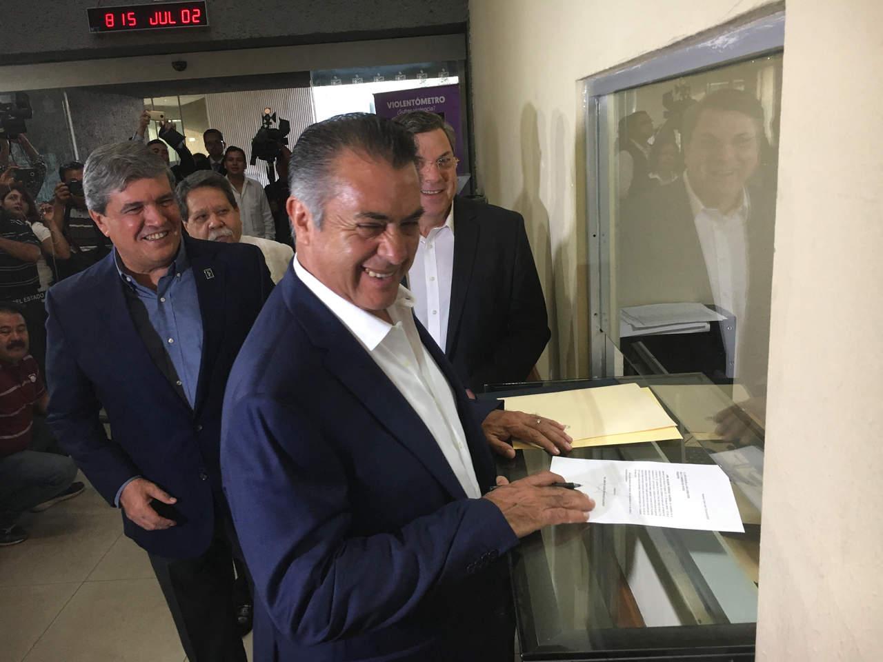 El Bronco anuncia cambios en gobierno de Nuevo León. Noticias en tiempo real