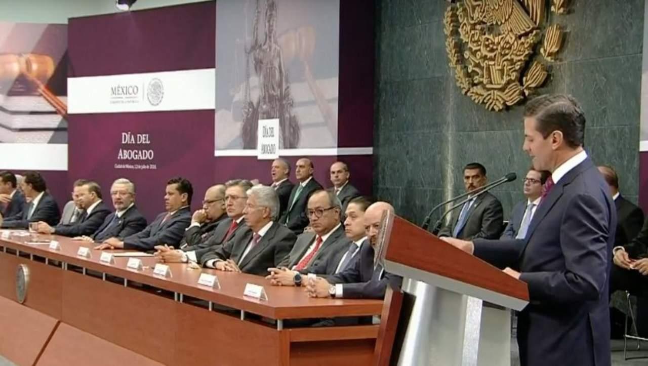 Peña Nieto defiende reformas y promete transición ordenada. Noticias en tiempo real