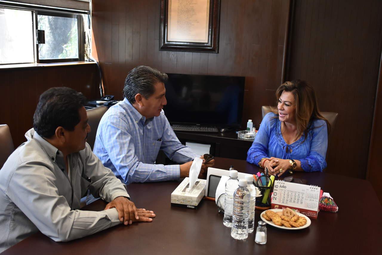 Se reúne Leticia Herrera con diputados locales electos. Noticias en tiempo real