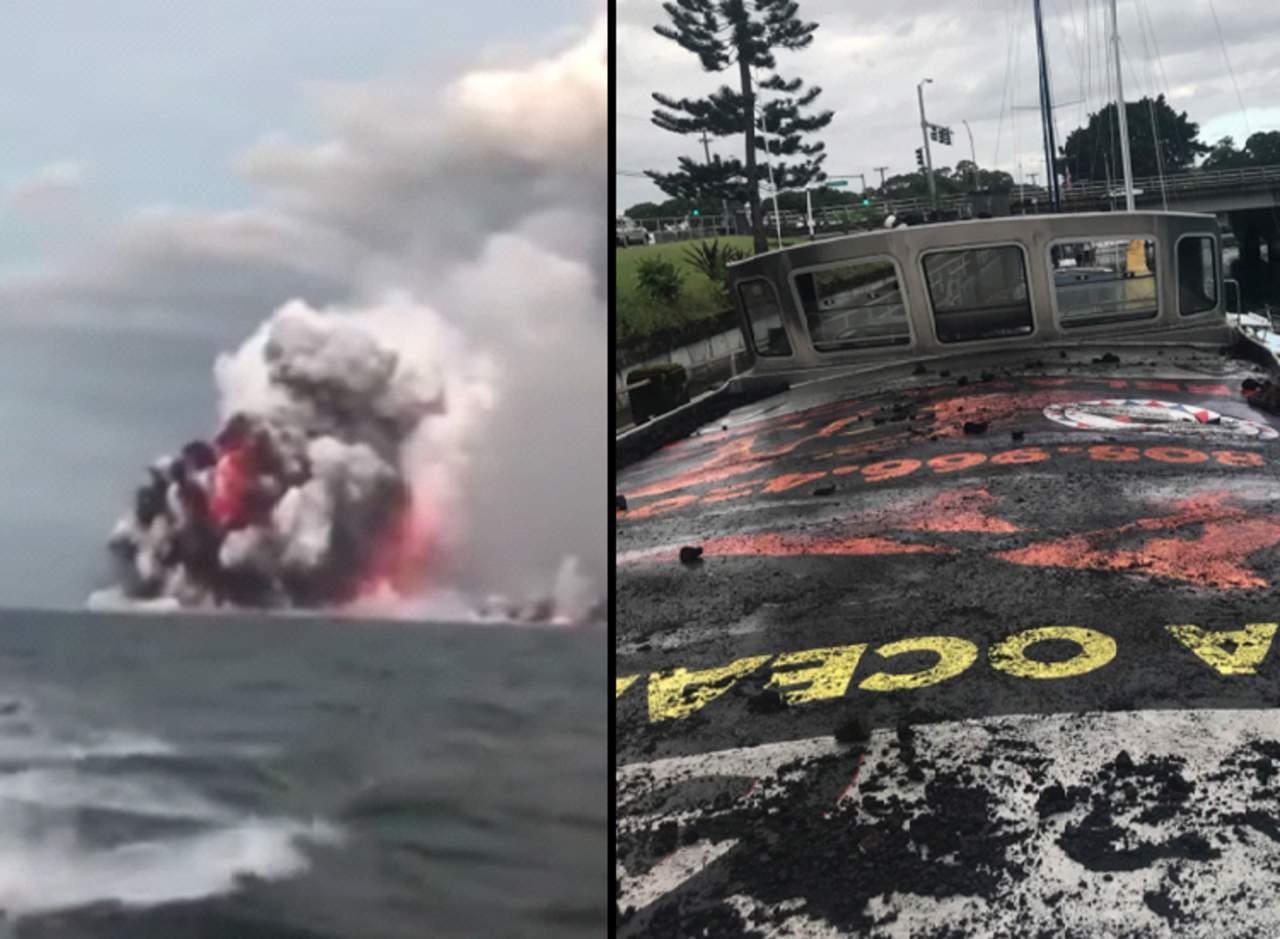 'Bomba de lava' deja varios heridos en Hawái. Noticias en tiempo real