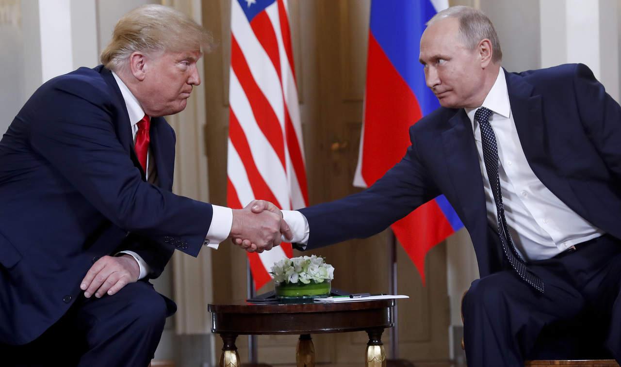 Trump dice a Putin que no tolerará más injerencia rusa. Noticias en tiempo real