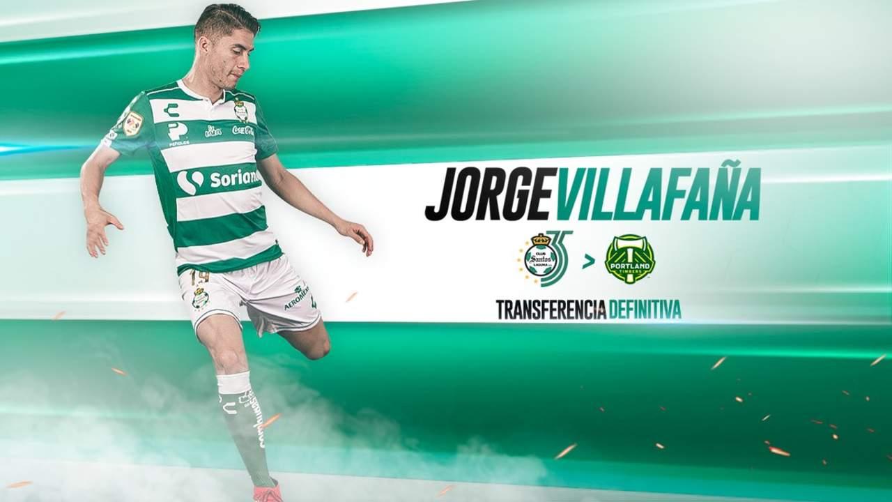 Sale Jorge Villafaña de Santos Laguna; regresa a la MLS. Noticias en tiempo real