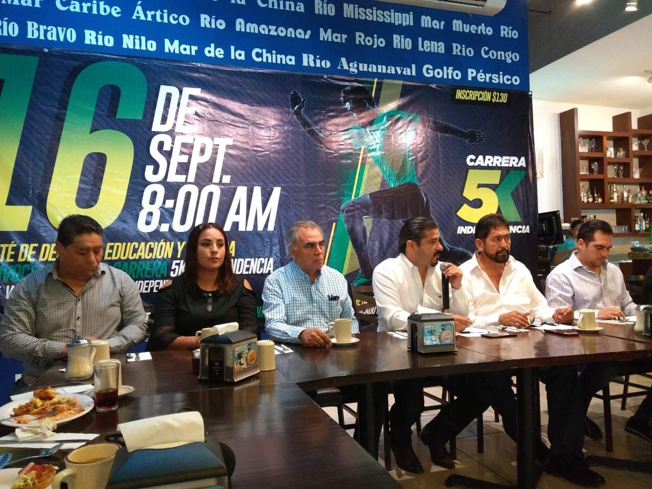 Anuncian tercera edición de la Carrera de la Independencia. Noticias en tiempo real
