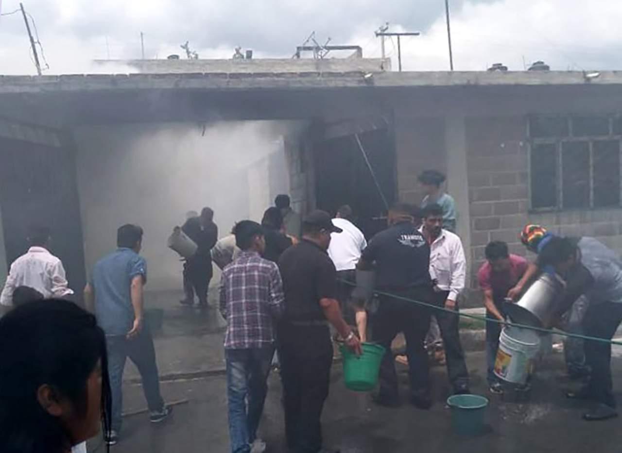 Incendio en vivienda de Tultepec deja dos menores muertos. Noticias en tiempo real