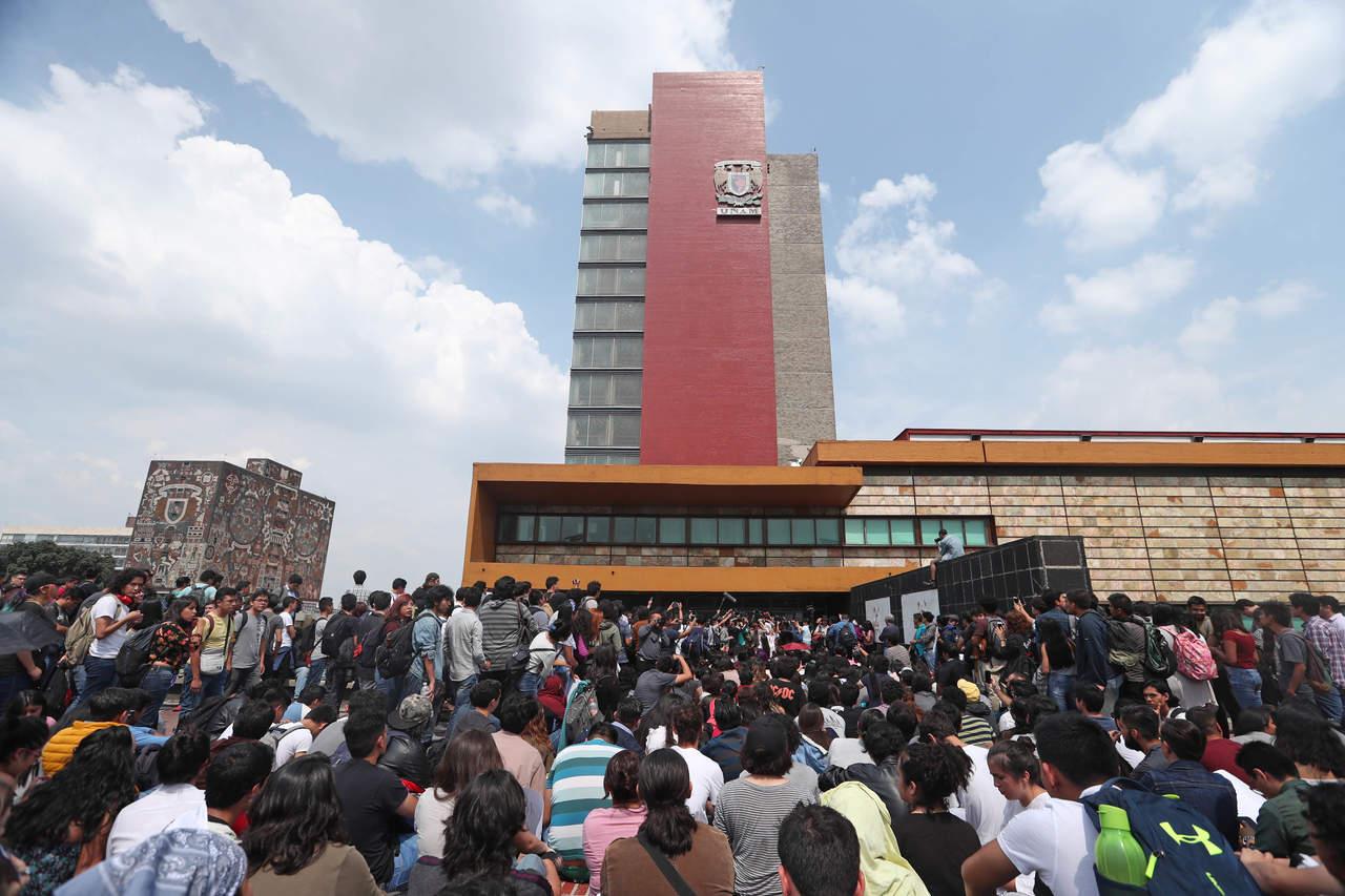 Facultades de Ciencias Políticas y Filosofía de UNAM acuerdan paro. Noticias en tiempo real