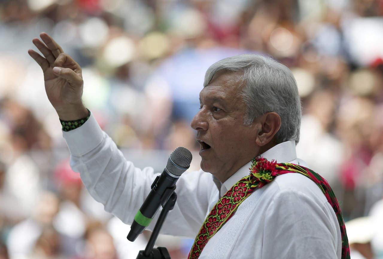 Ve López Obrador a país en bancarrota. Noticias en tiempo real