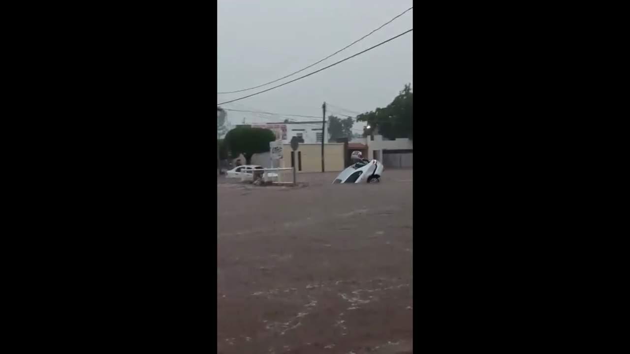 Reportan inundaciones en Sinaloa. Noticias en tiempo real
