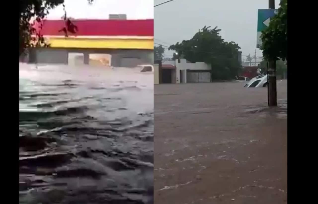 Usuarios comparten videos de las inundaciones en Sinaloa. Noticias en tiempo real