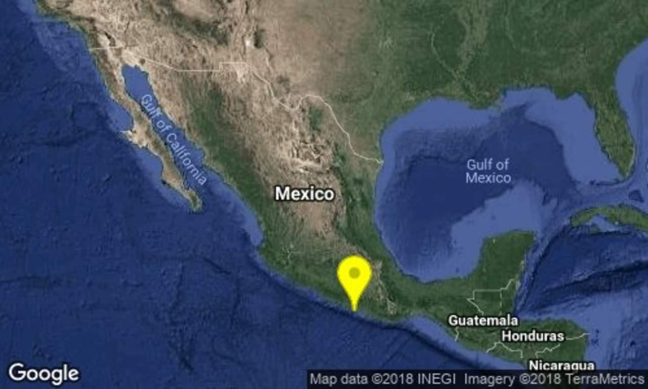 Reportan sismo de magnitud 5.2 en Guerrero. Noticias en tiempo real