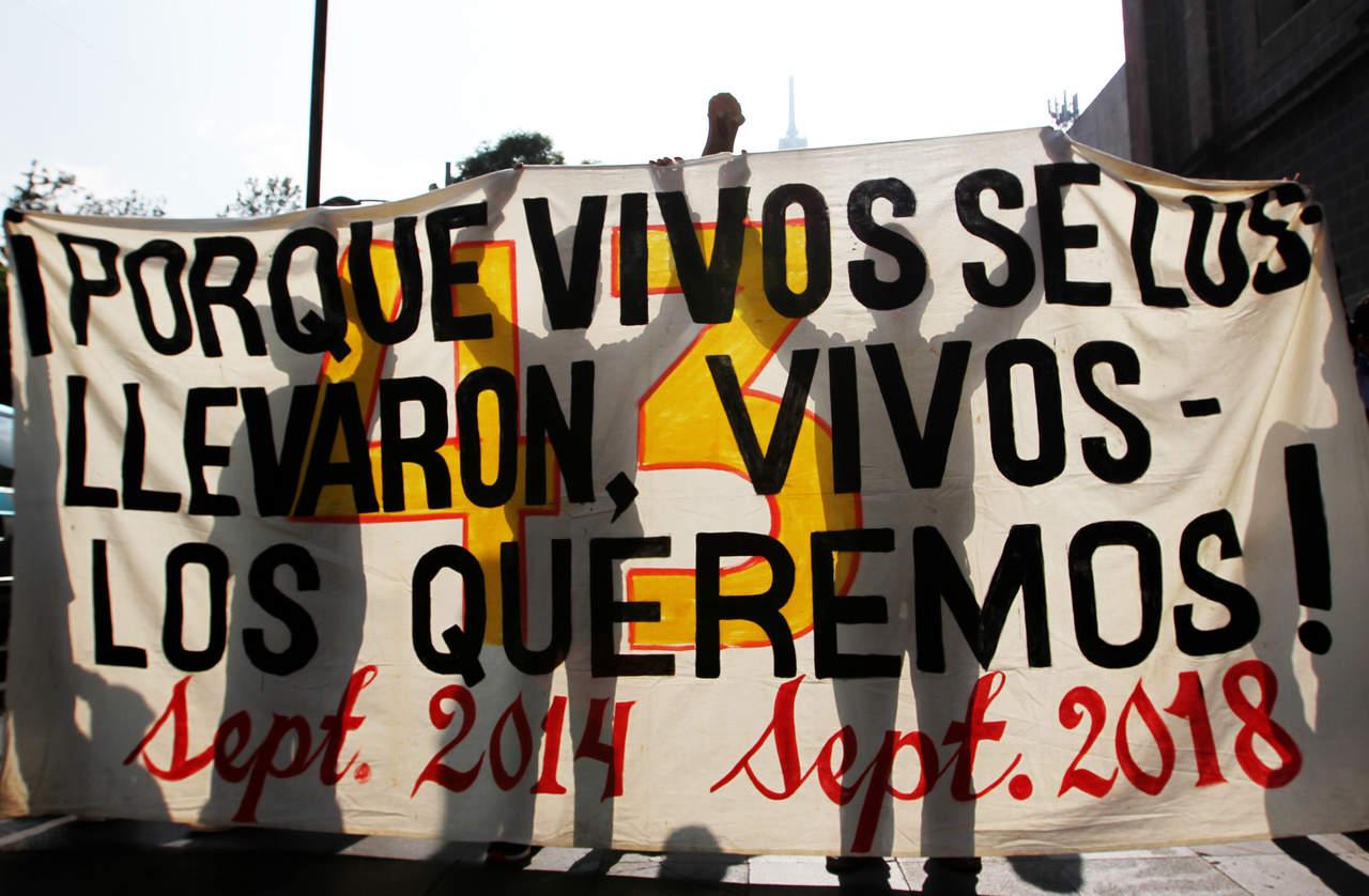 Marcharán en apoyo de los 43 normalistas desaparecidos. Noticias en tiempo real