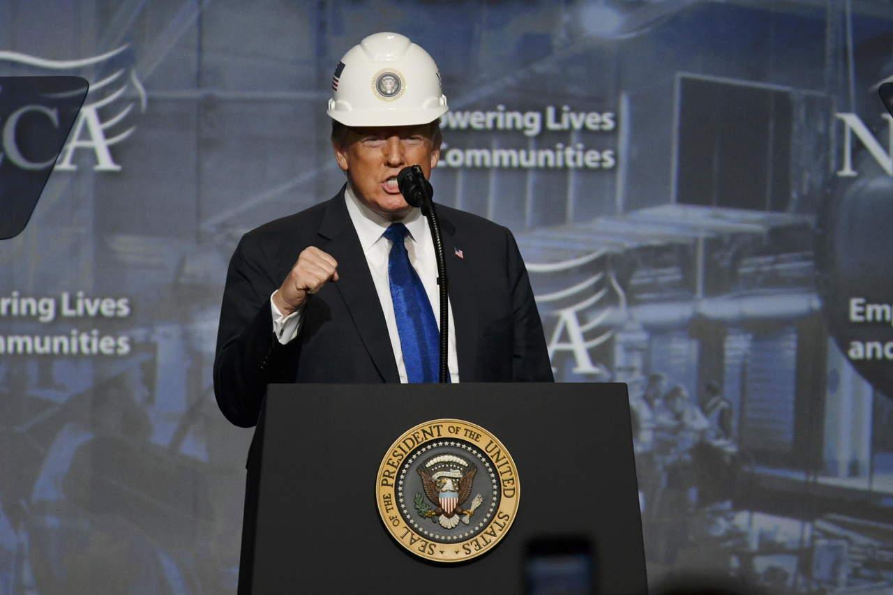 Trump presume USMCA en gira por estados industriales
