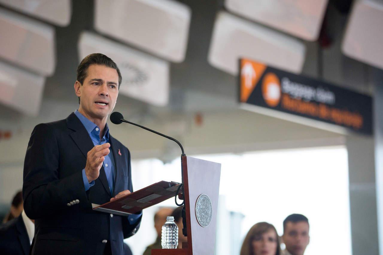 Recibir a Trump dio pauta a acuerdo: Peña Nieto