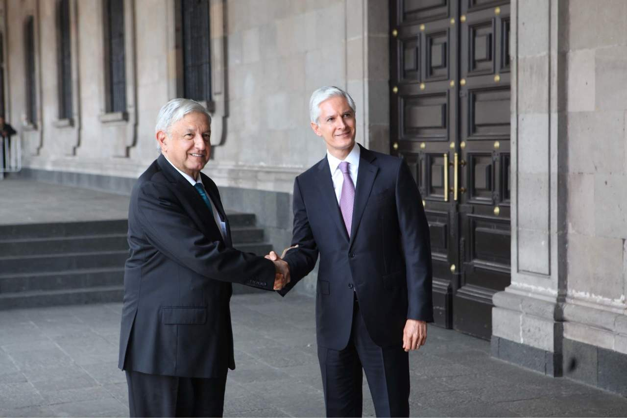 Se reúne López Obrador con Alfredo del Mazo. Noticias en tiempo real