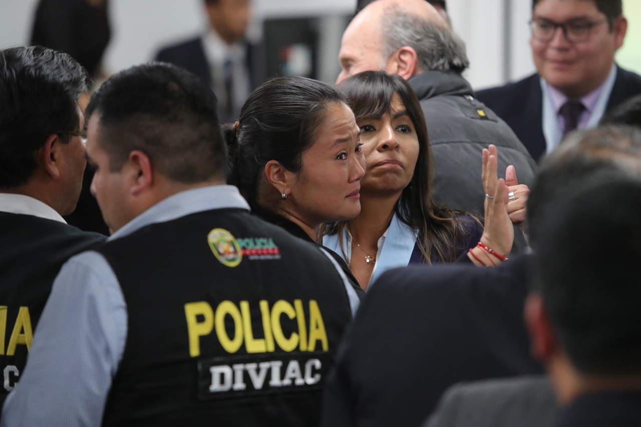 Tribunal de Perú ordena la liberación de Keiko Fujimori. Noticias en tiempo real