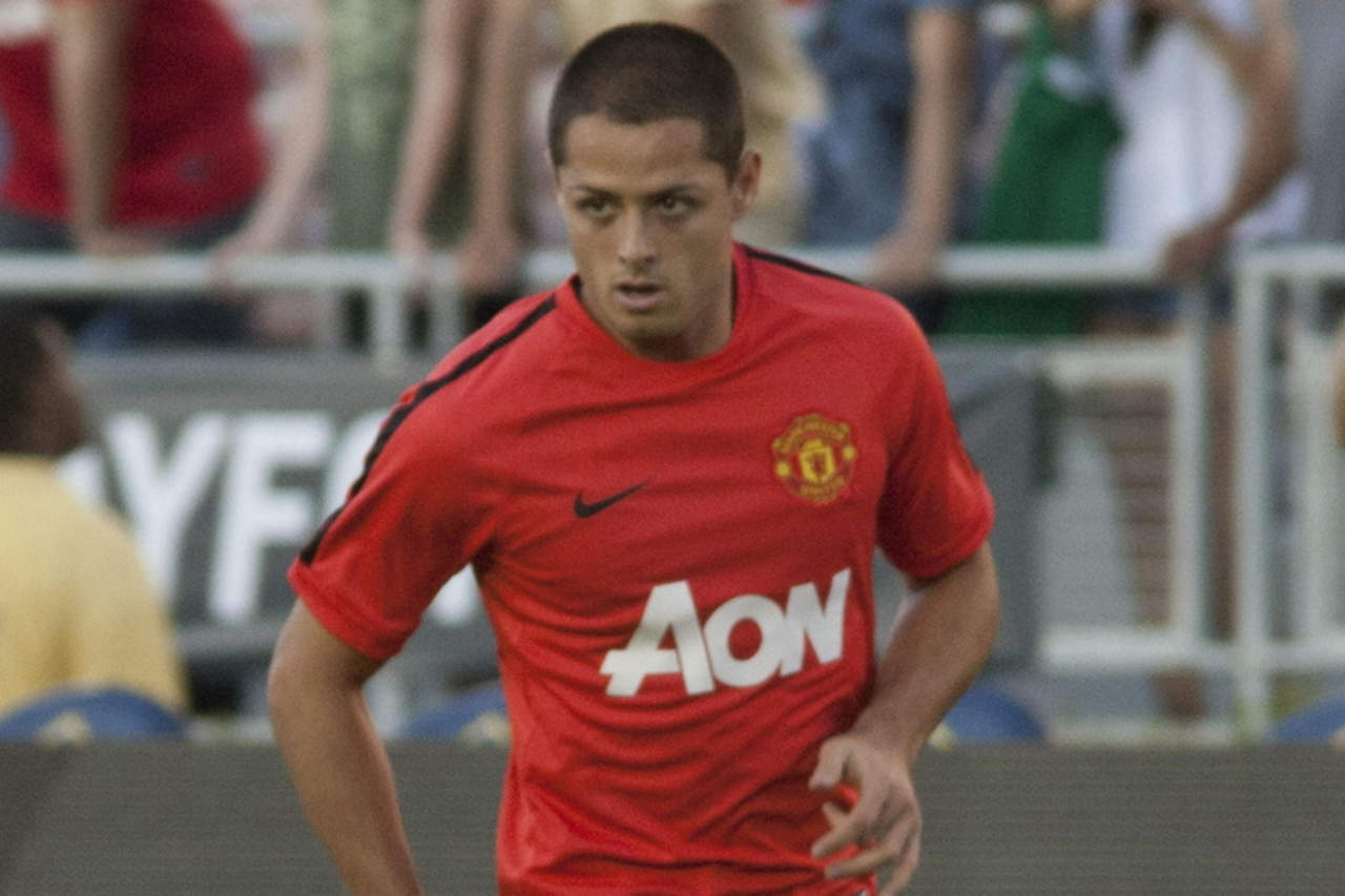Manchester United recuerda los goles de 'Chicharito' ante Chelsea