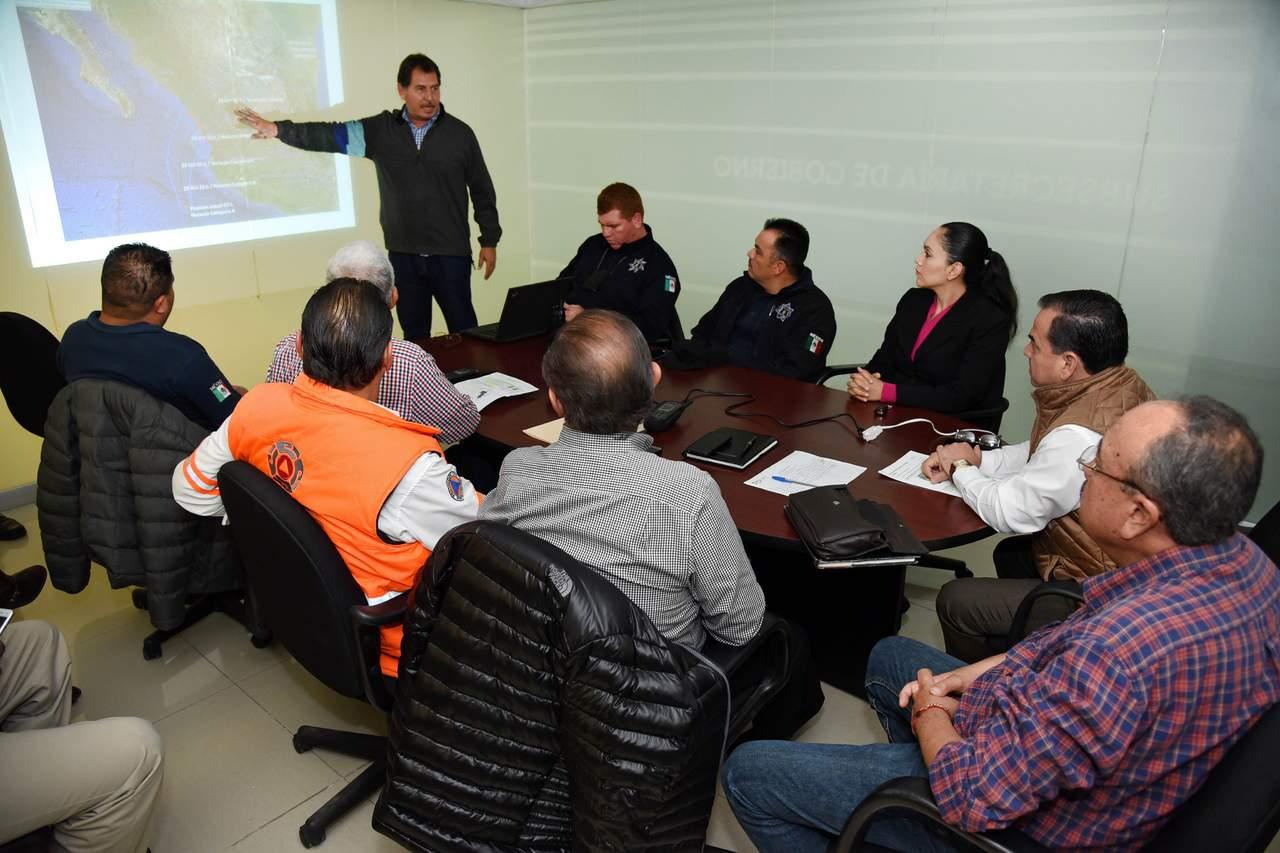 Se reúnen para coordinar acciones ante pronóstico de lluvias. Noticias en tiempo real
