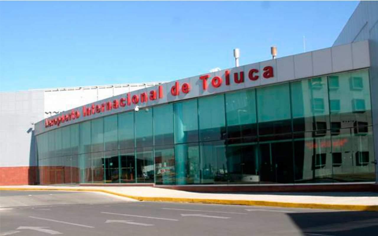 Aeropuerto de Toluca listo para recibir 8 millones de pasajeros: Del Mazo. Noticias en tiempo real