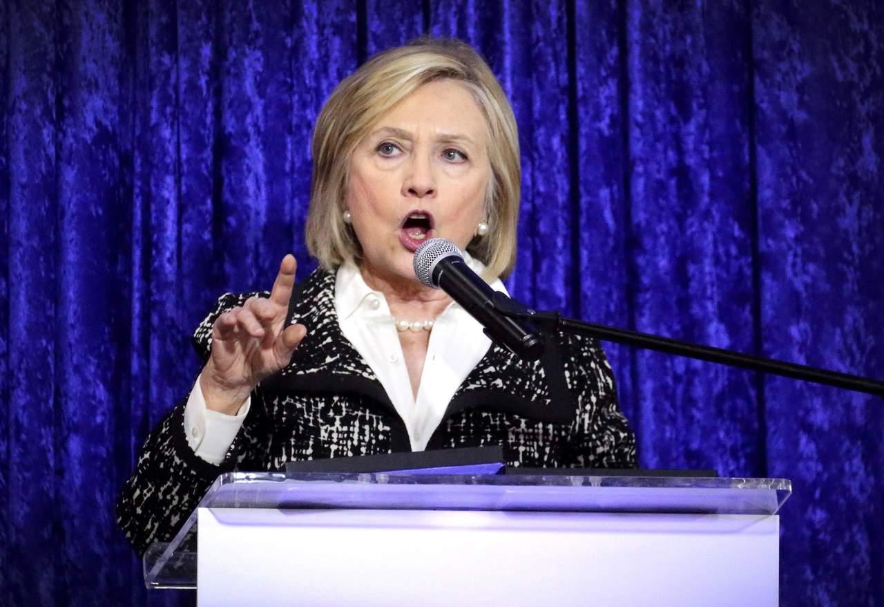 Pide Hillary Clinton votar contra el radicalismo y la corrupción de Trump. Noticias en tiempo real