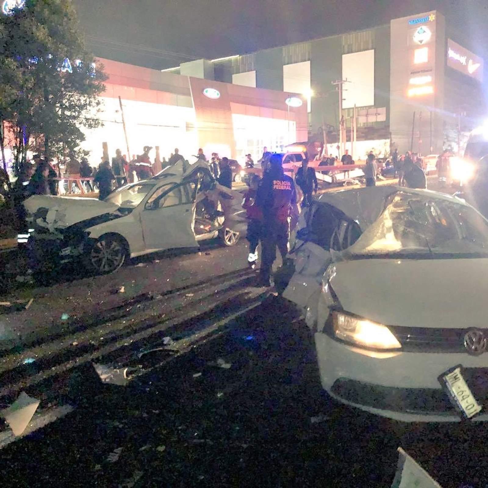Choque múltiple deja 7 muertos en la autopista México-Toluca. Noticias en tiempo real