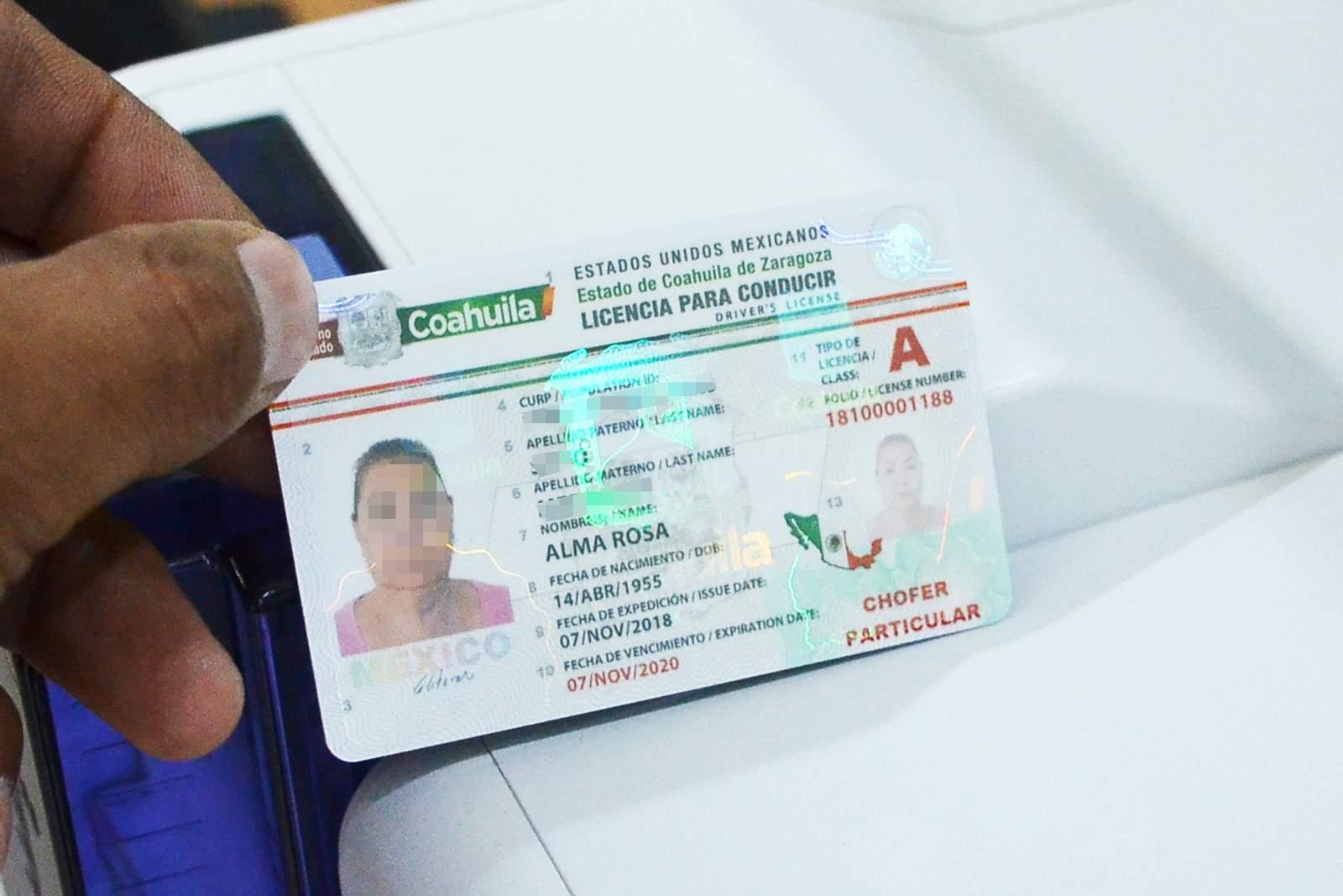 Expiden En Coahuila Licencias De Conducir Con 'candado