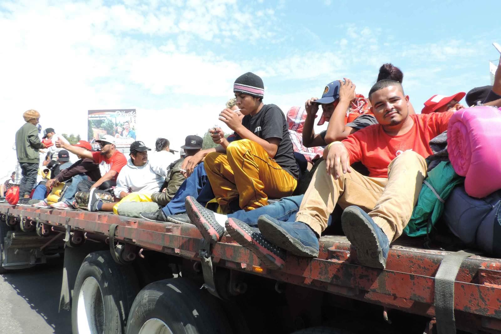 No somos vagabundos, dicen integrantes de la caravana. Noticias en tiempo real