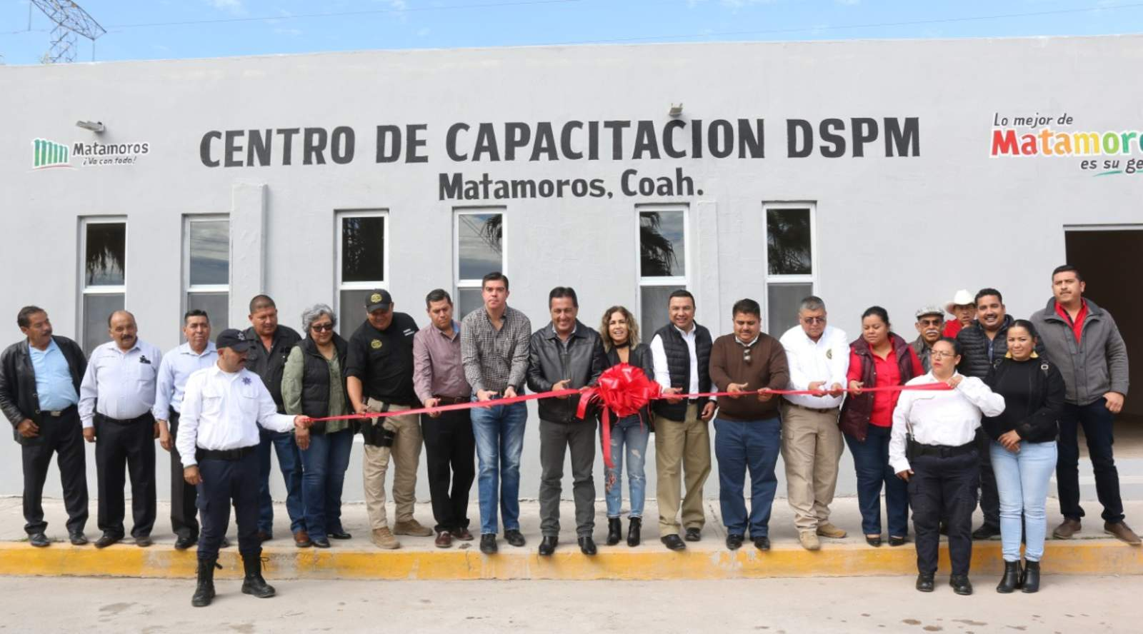 Inauguran centro de capacitación de la DSPM en Matamoros. Noticias en tiempo real