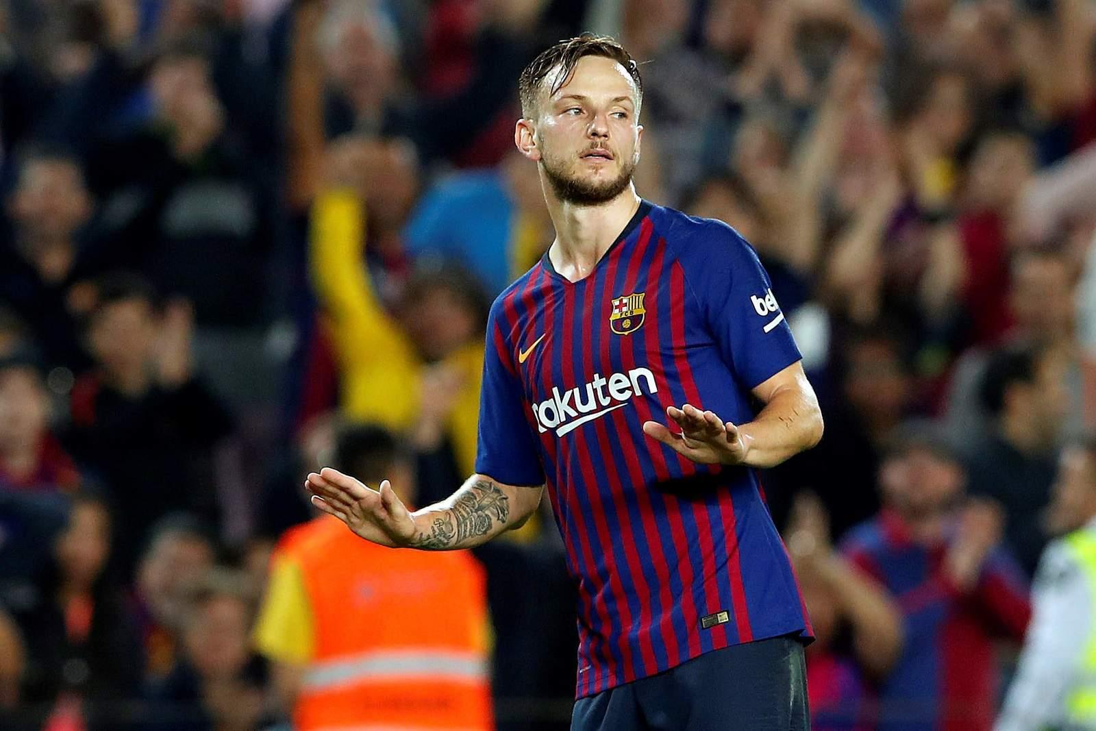 Confirma Barcelona lesión del croata Ivan Rakitic. Noticias en tiempo real
