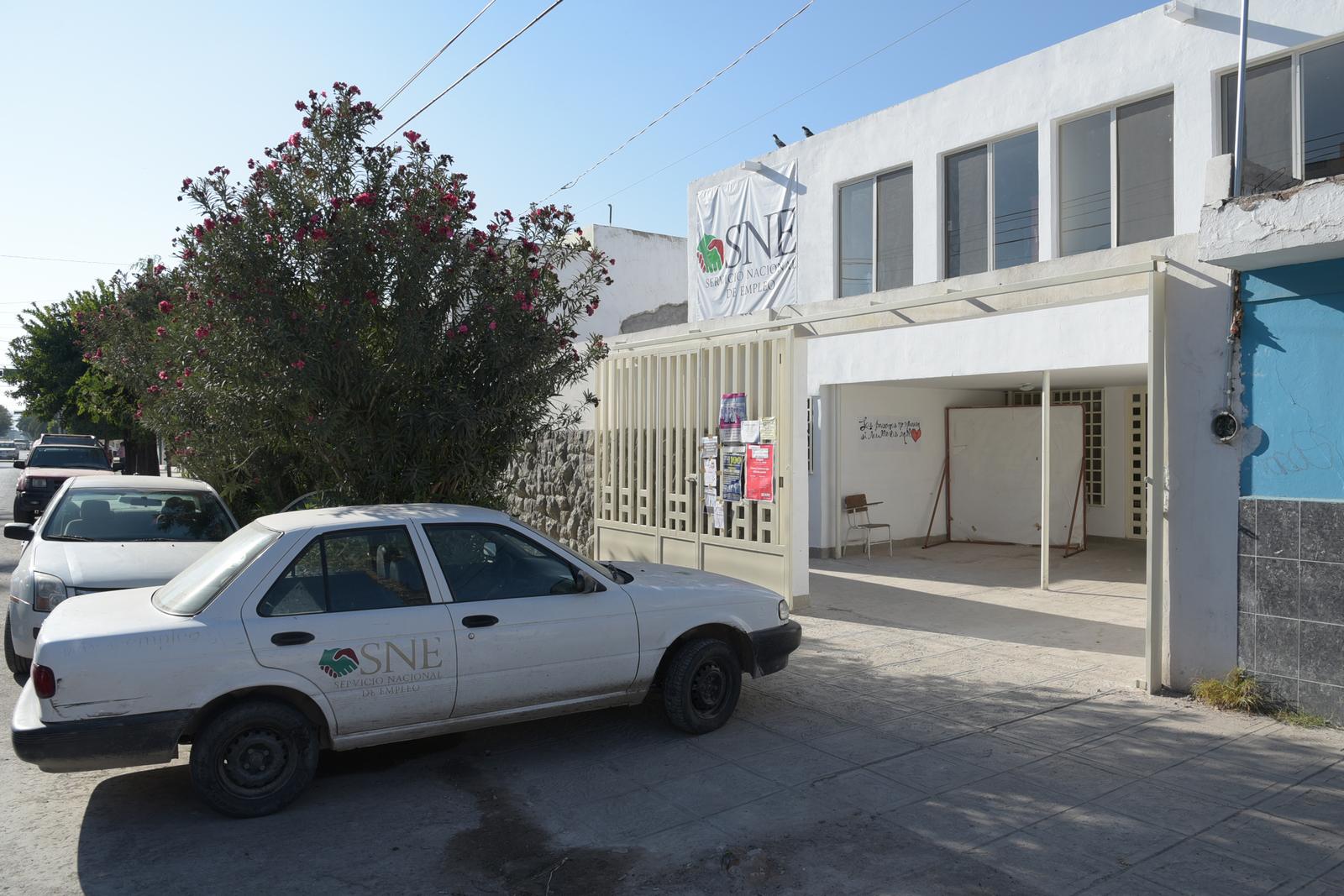 Reubican oficinas del sne en g mez palacio siglo torre n for Oficina de empleo la laguna