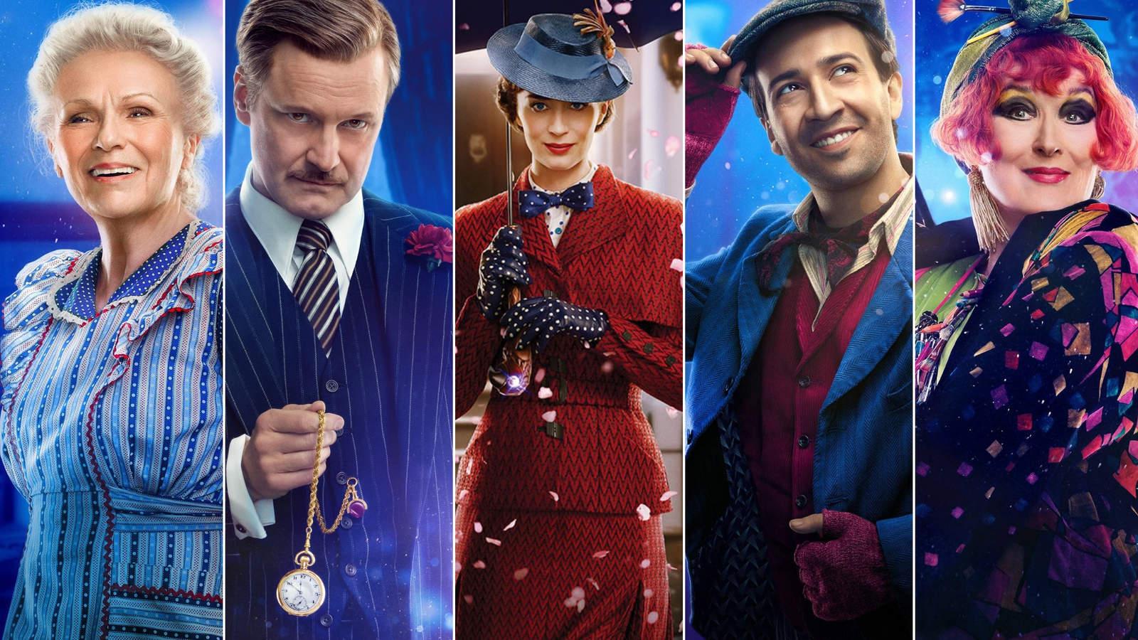¿Quién es quién en El regreso de Mary Poppins?. Noticias en tiempo real