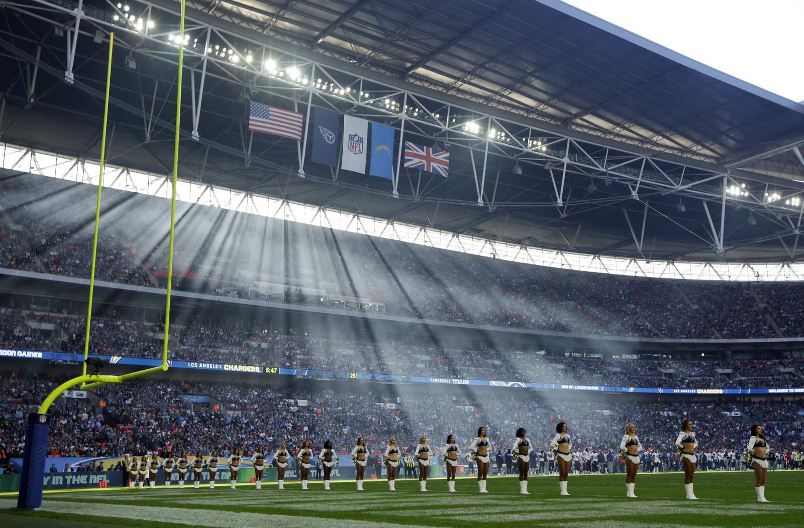 NFL vivirá cuatro partidos en Londres y uno en México 22c29f11526