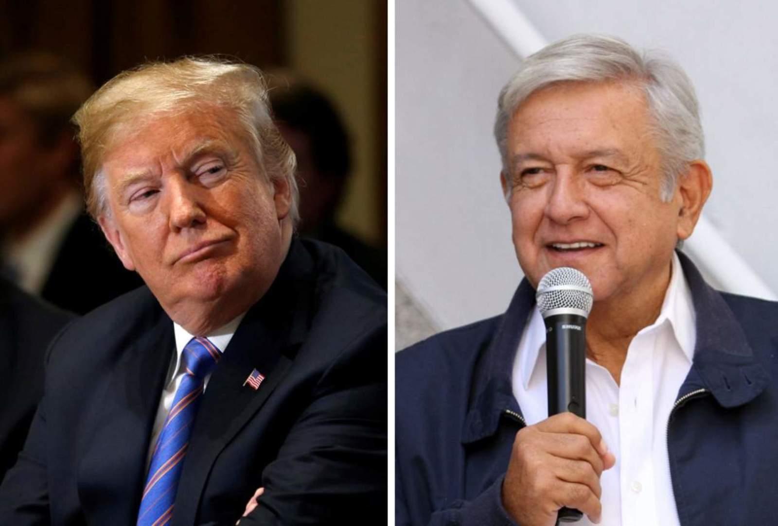 Conversación Trump-AMLO, sobre relaciones positivas: Casa Blanca. Noticias en tiempo real