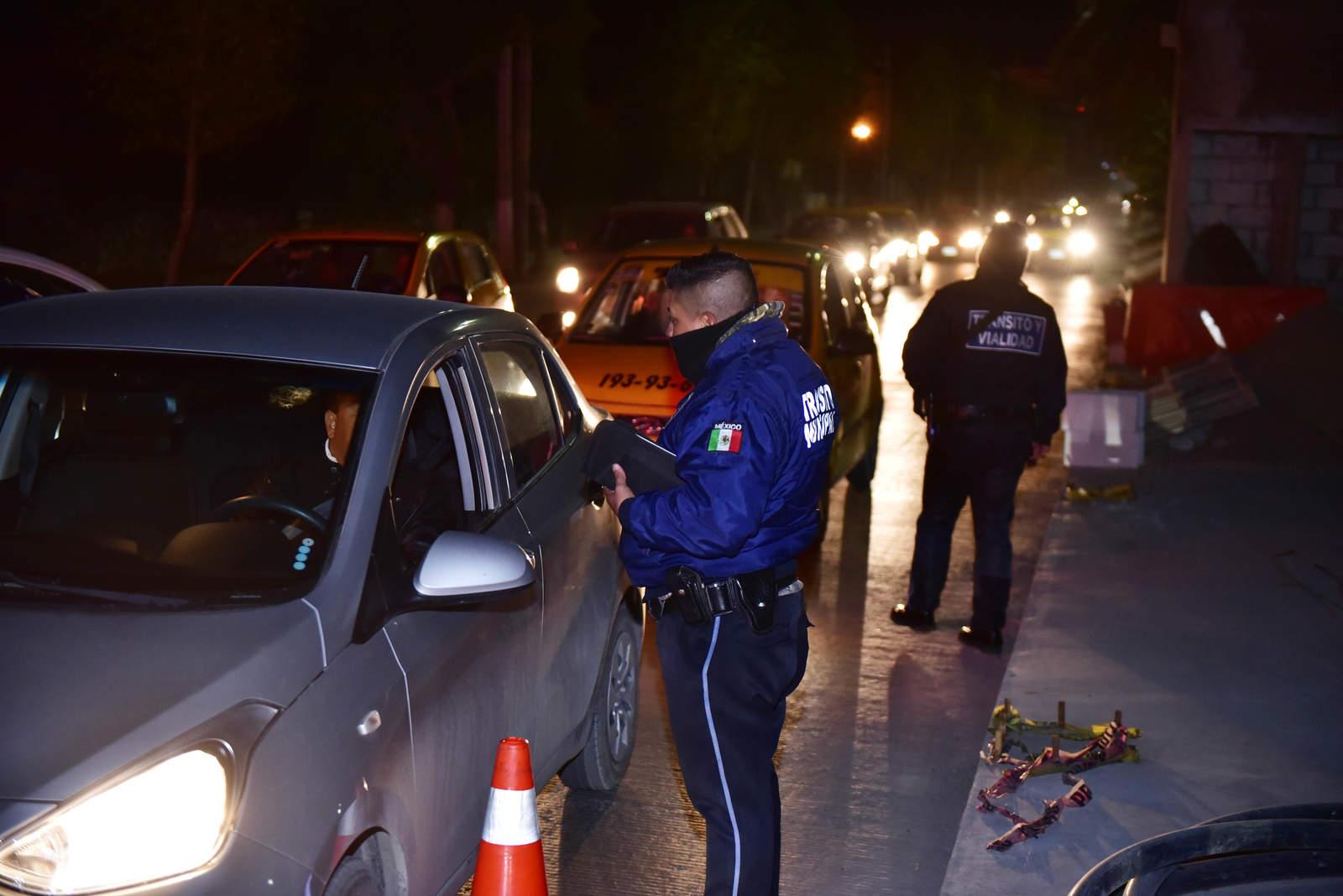 Tránsito y Vialidad llama a evitar combinar volante y alcohol
