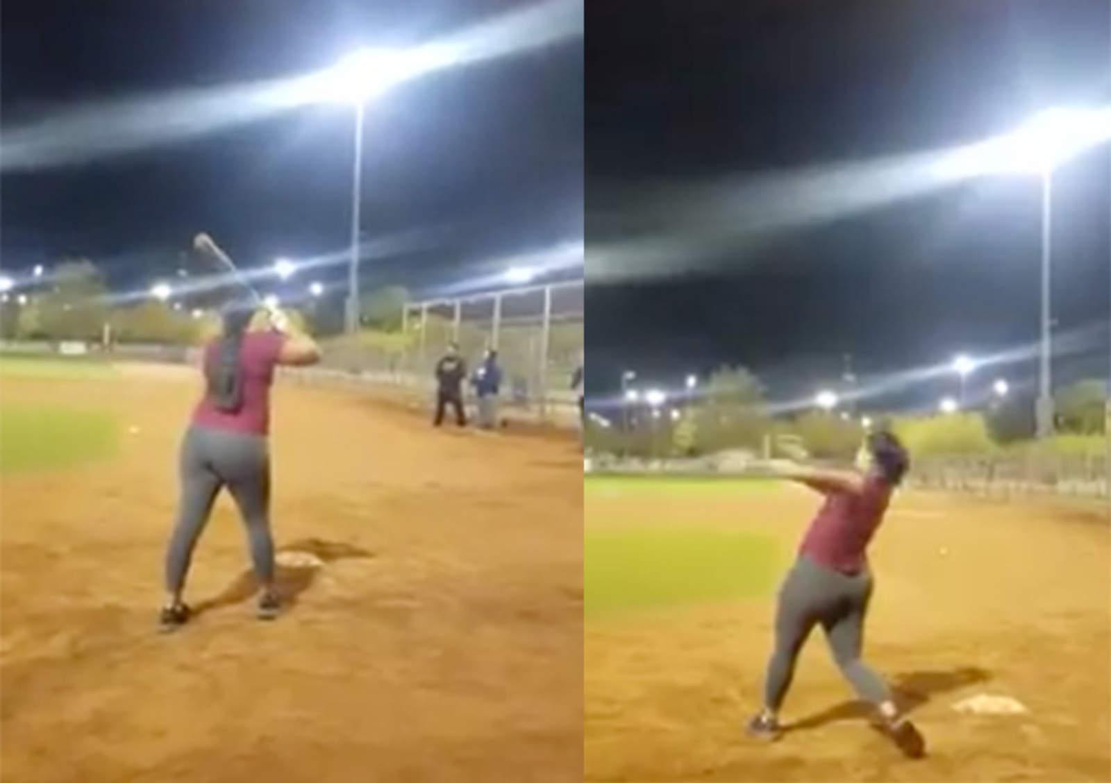 VIDEO  Chica sorprende con su fuerza de bateo b30cafdc9f459
