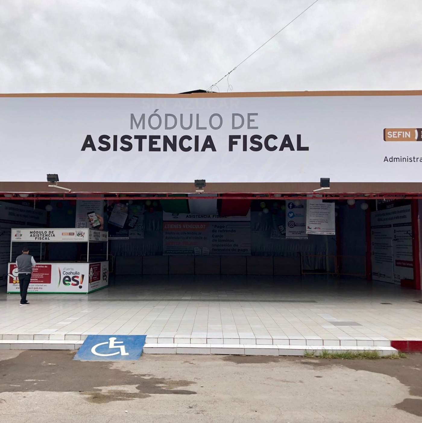 Instalan Mega Módulo De Asistencia Fiscal En La Expo Feria