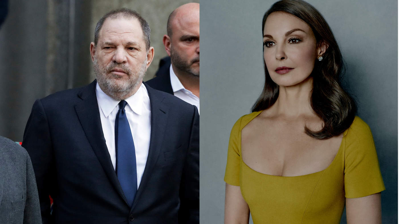 Desestiman parte de demanda de Ashley Judd contra Harvey