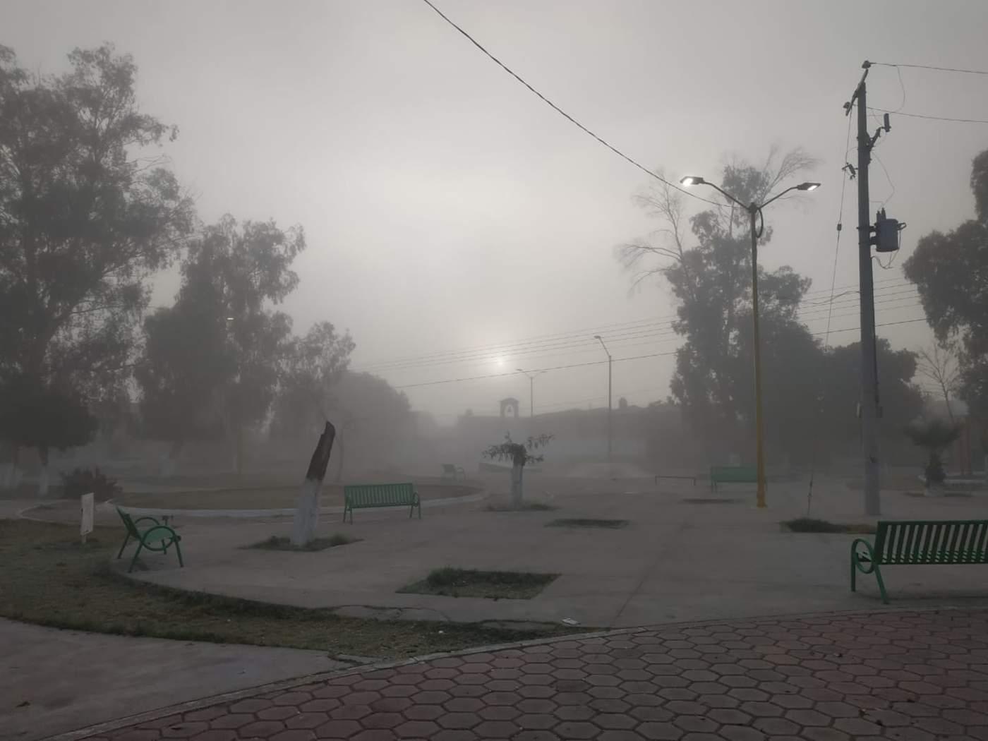 Amanece La Laguna con neblina. Noticias en tiempo real