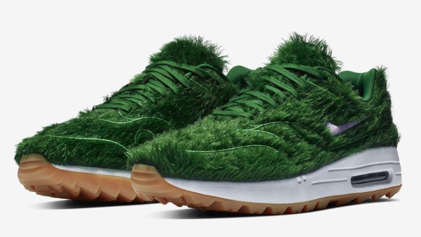 d989a50fa45eb Zapatos diseñados para parecer pasto generan revuelo