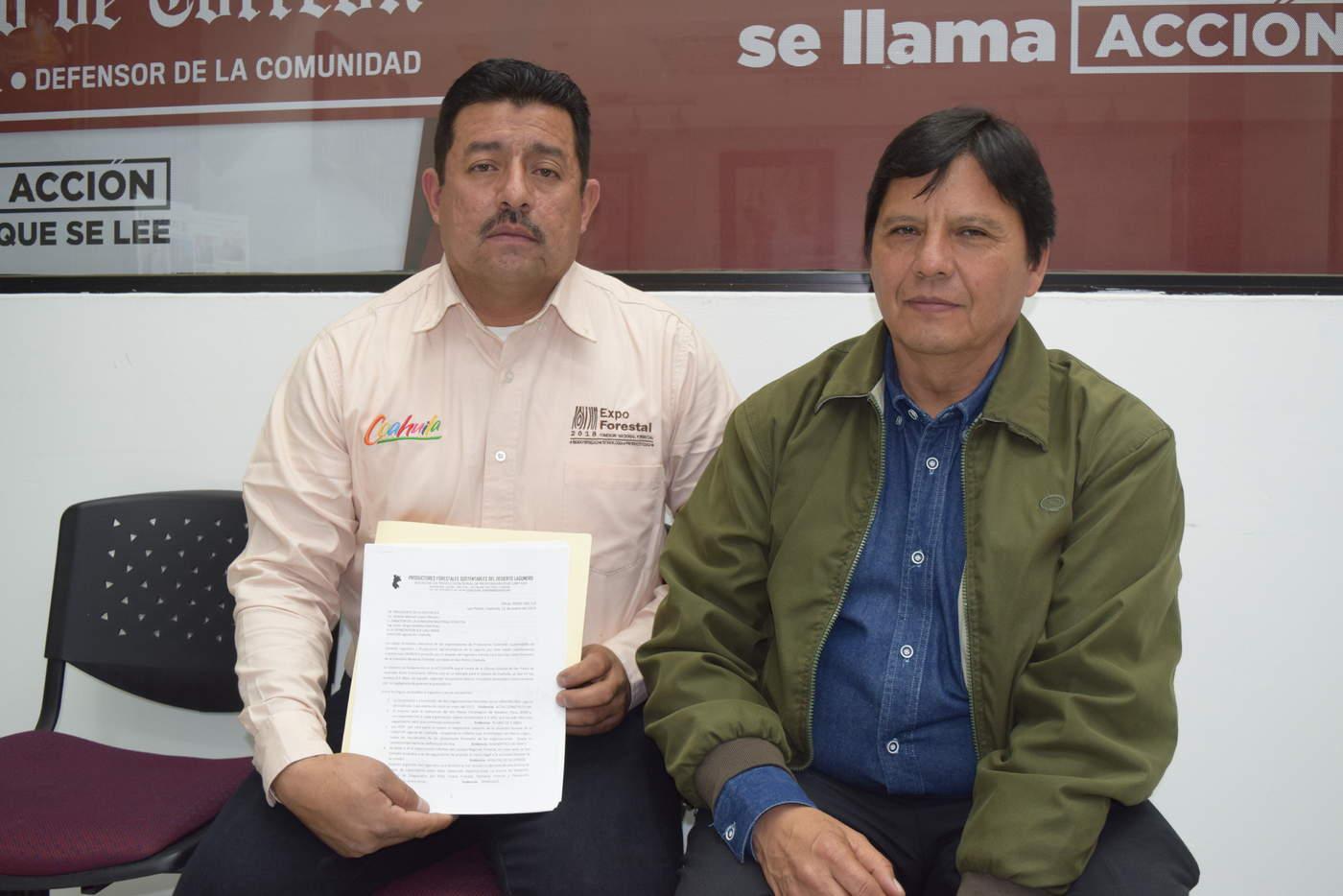Inconformes por cese de promotor 39 forestan 39 en oficina de for Oficina de empleo la laguna