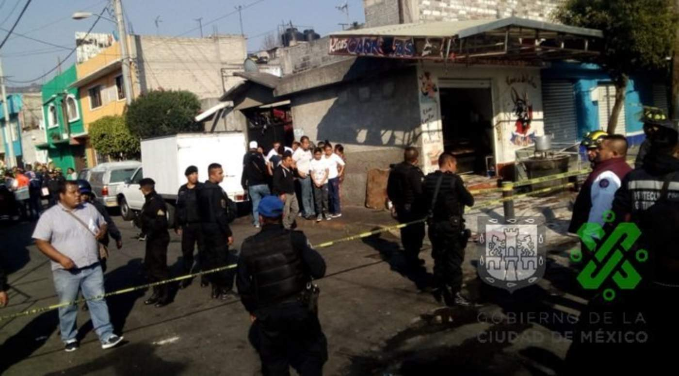 Ocurre explosión en inmueble de GAM; reportan heridos. Noticias en tiempo real