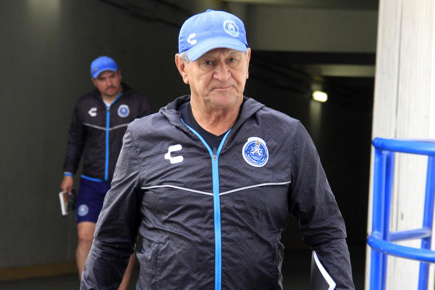 Cesan a Enrique Meza como técnico del Puebla. Noticias en tiempo real