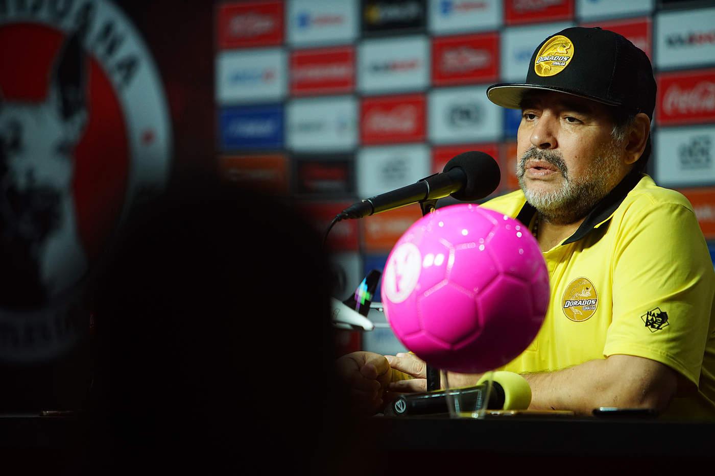 Maradona es suspendido en el Ascenso MX