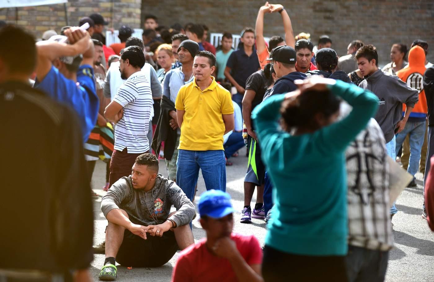Suman mil 422 registros de migrantes en Piedras Negras; han autorizado 777