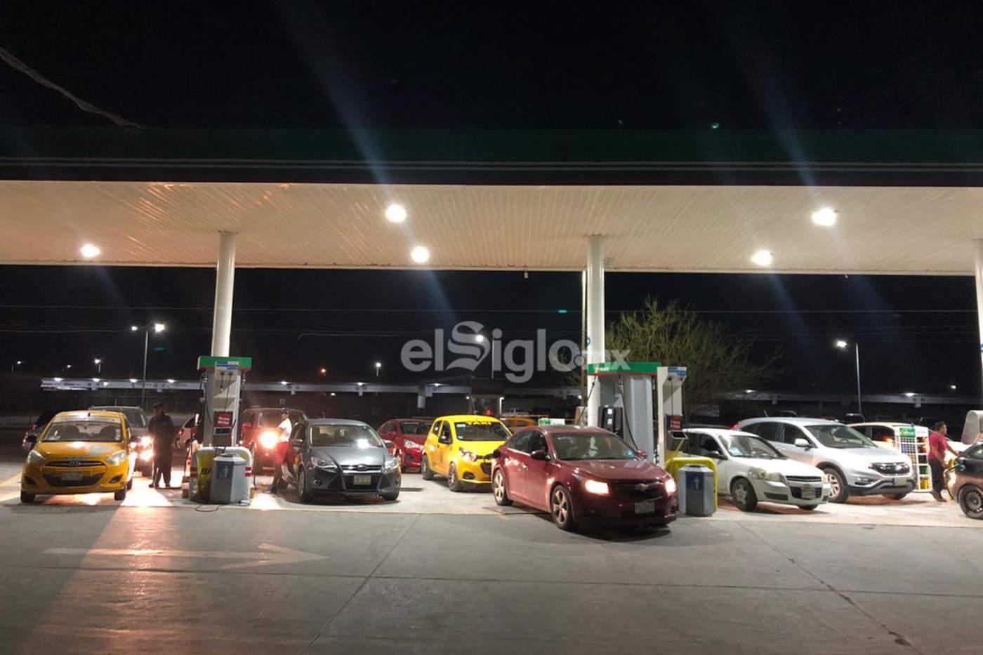 Se registran compras extraordinarias de combustible en La Laguna