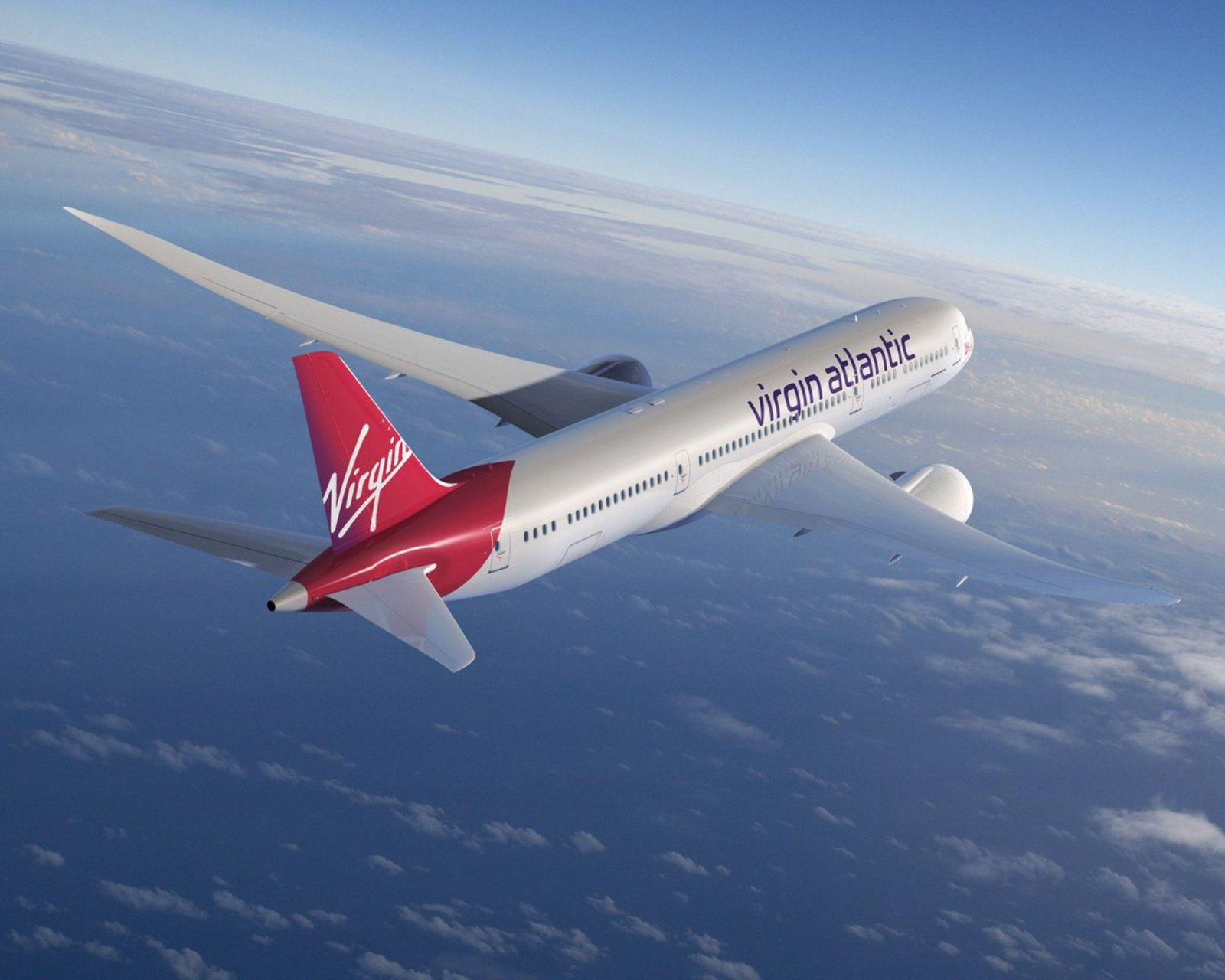Virgin Atlantic rompe barrera del sonido
