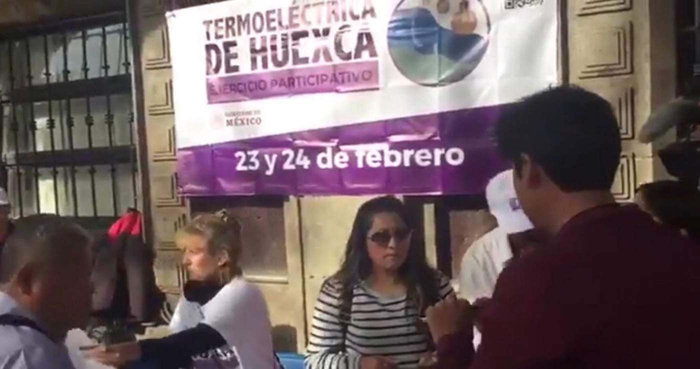 Inicia consulta ciudadana sobre termoeléctrica en Morelos. Noticias en tiempo real