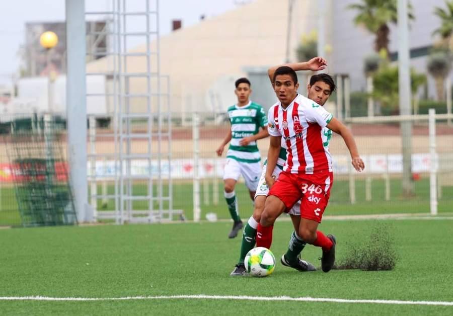 Golea Sub-17 de Santos a Necaxa. Noticias en tiempo real
