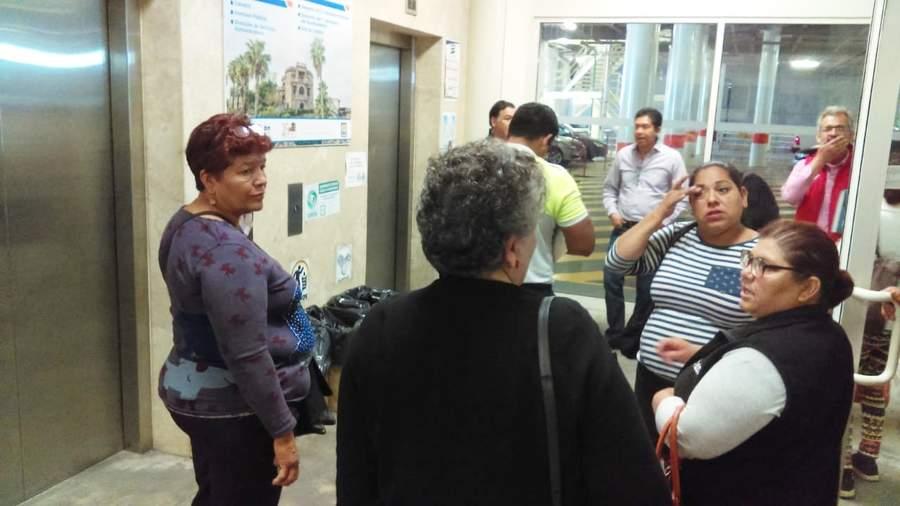 Arman zafarrancho en elevadores de la presidencia municipal. Noticias en tiempo real