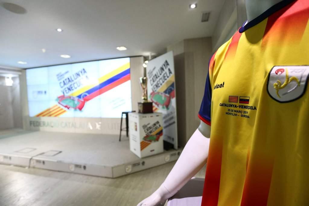 Cataluña-Venezuela, más que un partido de futbol. Noticias en tiempo real