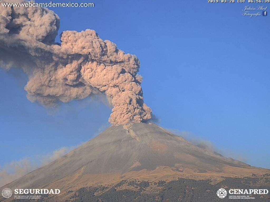 Escuelas de Morelos, atentas por actividad del Popocatépetl. Noticias en tiempo real