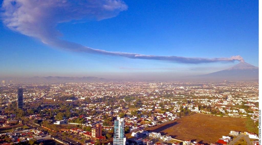 Alistan operativos ante actividad del Popocatépetl. Noticias en tiempo real